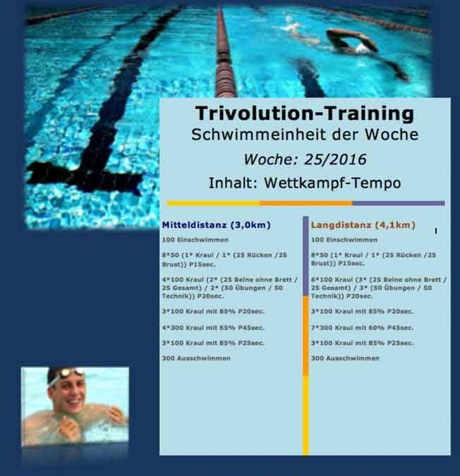 [:de]Schwimmtrainingsplan – Woche 25[:]
