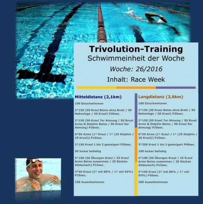 [:de]Schwimmtrainingsplan – Woche 26[:]